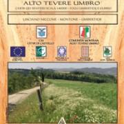 lto Tevere Umbro Carta dei Sentieri scala 1:40000 fogli Umbertide e Gubbio   LISCIANO NICCONE - MONTONE - UMBERTIDE